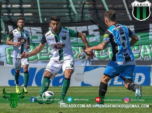 Nacional B - Almagro con Marcos Litre empató en Mataderos ante Nueva Chicago.