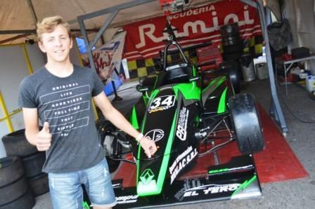 Fórmula 3 Metropolitana - Bautista Oliva culminó 7° en La Plata.
