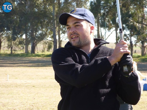 Matías Decaso y Héctor Hirigoyen los ganadores en el Pigüé Golf.