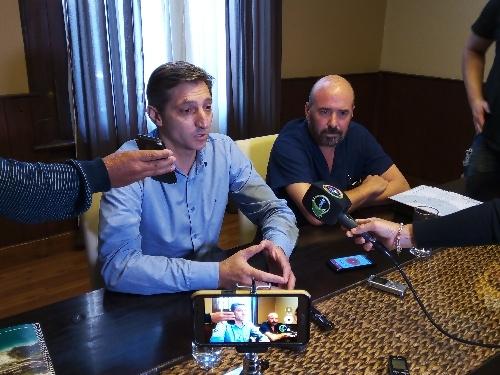 """El Intendente Notararigo sobre dichos de Batista:  """"nosotros no perseguimos ni apretamos a nadie, es una locura decir eso"""""""