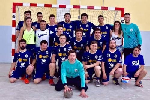 Handball Masculino - Cuarto lugar de Club Sarmiento en Pehuajó - Detalles del torneo.