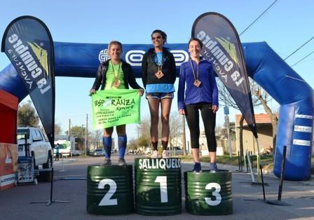 Atletismo - Yani Clair se adjudicó la prueba de 10 km en Quenumá.
