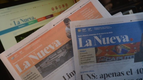 La Nueva Provincia en papel desde ahora solo Sábados y Domingos