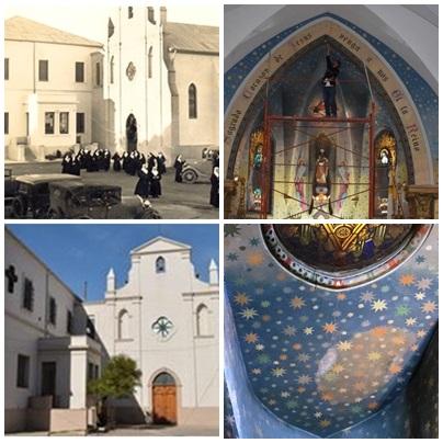 Campaña de donaciones para la restauración de los murales de la Capilla del Colegio Niño Jesus de Pigüé