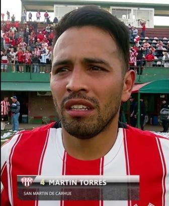 LRF - Martín Torres de San Martín de Carhué no juega el 1°cruce final.