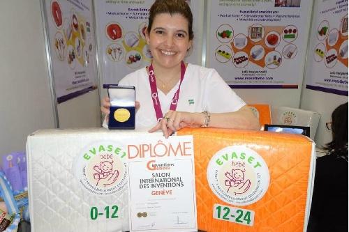 Médica pediatra argentina premiada con medalla de oro en Suiza por crear un set para observar  el desarrollo neurológico de los bebés