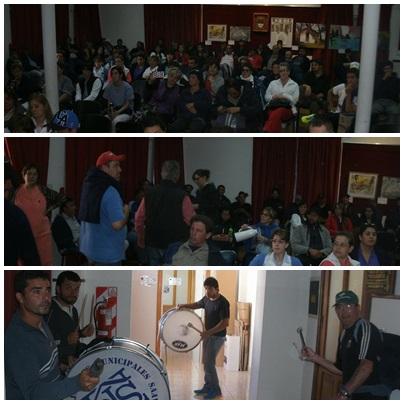 Pigüé: Continúa  el paro de los municipales que se mantienen movilizados en el HCD