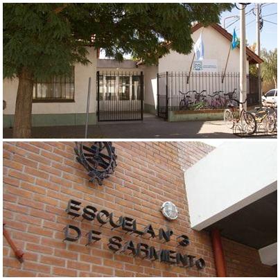 Entregaron centrales meteorológicas  y computadoras del plan Aprender Conectados a dos escuelas de Pigüé
