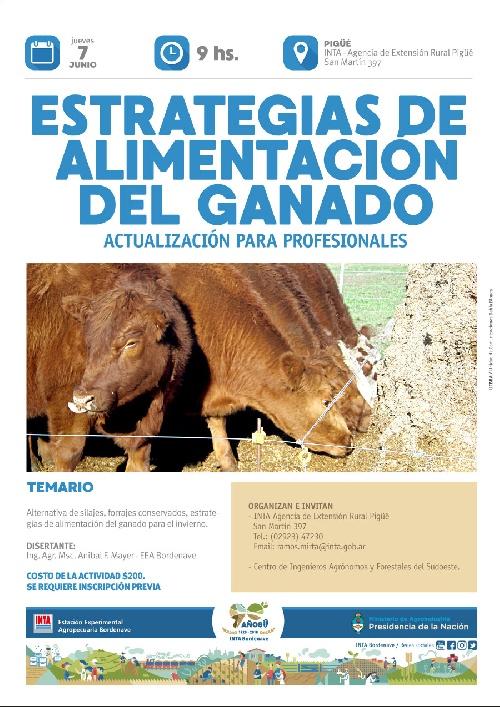 JORNADA DEL INTA PARA ACTUALIZACION DE PROFESIONALES SOBRE GANADERIA
