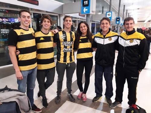 Santino Haspert viaja con el Club Olimpo al Nacional del Cenard en Capital Federal.