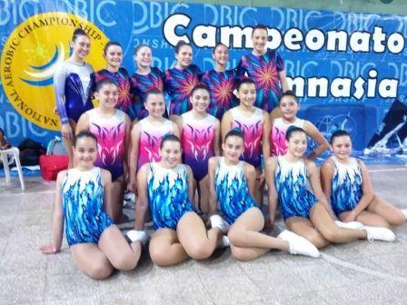 Gimnasia Aeróbica - Le Corps Gym participó de Final Nacional en Buenos Aires.