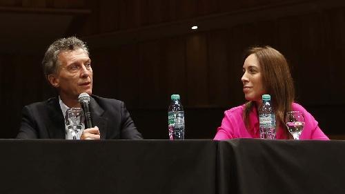 Sin cadena. Macri en conferencia de prensa