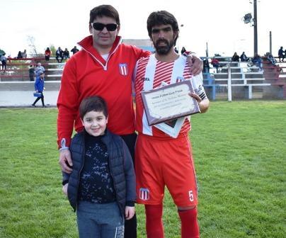 LRF - Despedida de Norberto Montero con reconocimiento del Club Unión.