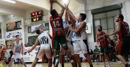 Blanco y Negro se quedó con el clásico de basquet ante Deportivo Sarmiento.