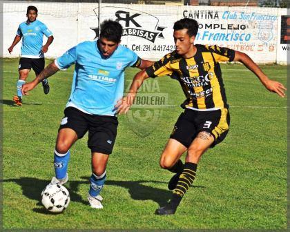 Liga del Sur - Nicolás Cabral jugó amistoso con Olimpo ante Libertad.