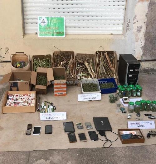 Arroyo Corto: allanamientos, detención y secuestro de  marihuana