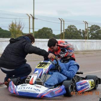 Karting - Agustín Schmidt ganó las dos finales en nuestra ciudad.