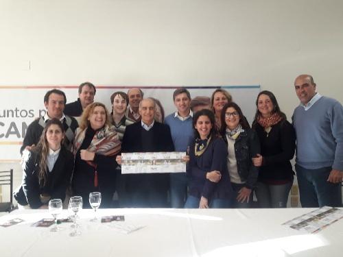 Daniel Salvador se reunió con Notararigo y los precandidatos de  Juntos por el Cambio de Saavedra
