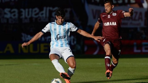 AFA - Primera División - Lanús derrotó a Atlético Tucuman en la despedida del técnico Azconzabal - Leo González en cancha los 90 minutos.
