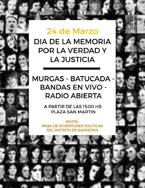 Pigué: Encuentro de Juventudes politicas para el 24 de marzo