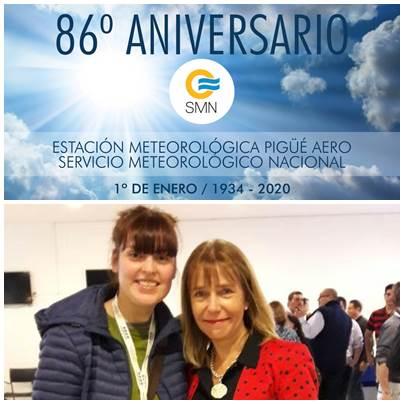 SMN : 86º Aniversario de la Estacion Meteorológica de Pigüé