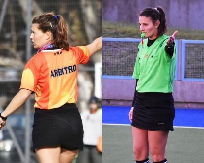 Hockey - Vallejos y Cappelletti designadas como árbitros en torneos de selecciones.