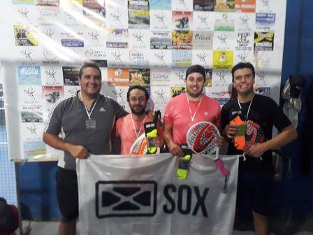 Padel - Marcos Lagrimal junto a Ignacio Bilbao obtuvieron torneo de 4ta categoría.