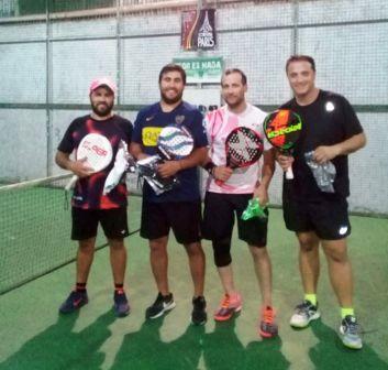 Padel - Echeverría y Ponce se quedaron con torneo de 6ta categoría.