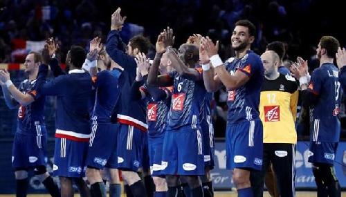Comenzó el tercer mundial de Handball. Francia sepultó a Brasil.