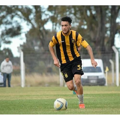 AFA - 1ra División - Nicolás Cabral formó parte del equipo de suplentes de Olimpo en amistoso realizado ante Sansinena.