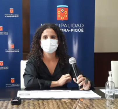 Conceptos de la intendenta interina Ana Lucia García en conferencia de prensa