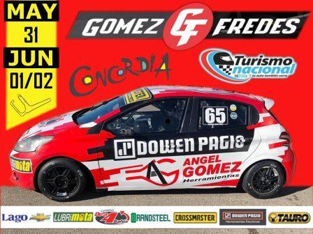 Turismo Nacional - Fernando Gomez Fredes viaja a Concordia a competir en Clase 2.