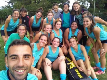 Hockey Femenino - Debut con goleada para el CAI de Puán en Junín.