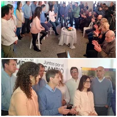 JUNTOS POR EL CAMBIO: presentación de todos los candidatos