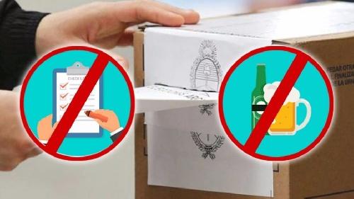 Comisaria Pigüé: Prohibición de expendio de bebidas alcoholicas y espectáculos desde 12 horas antes del dia del comicio