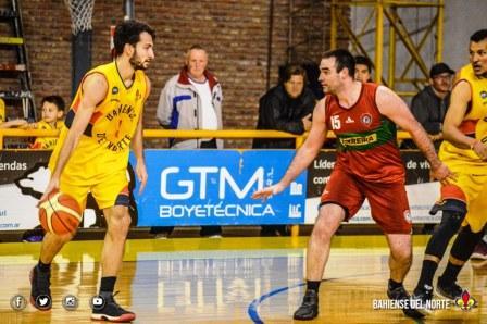 Basquet Bahiense - Bahiense del Norte con Silva comenzó derecho los play offs.