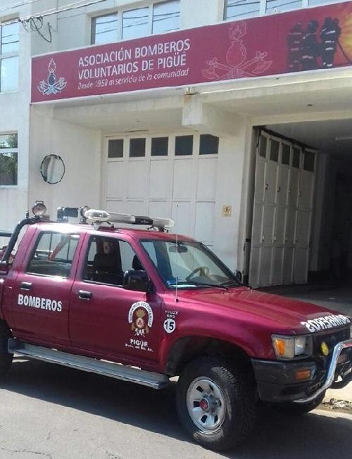Principio de incendio rápidamente sofocado por los Bomberos en Barrio Murguia