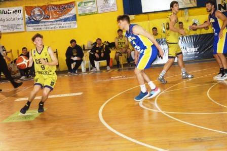 Basquet Santafecino - Ceci BC con 22 tantos de Biscaychipy suma una nueva victoria.