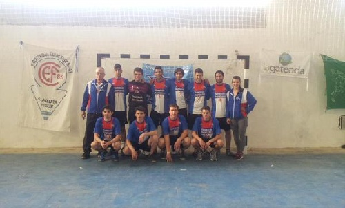 Handball Masculino - Victorias del Cef 83 ante Guaminí.