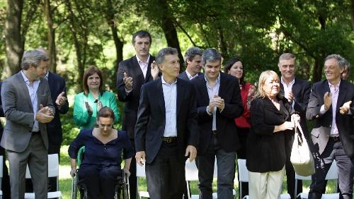 Macri presentó su gabinete