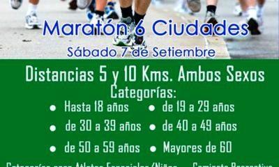 Atletismo - Ya se promociona la fecha de la Maratón de las 6 Ciudades en Quenumá.