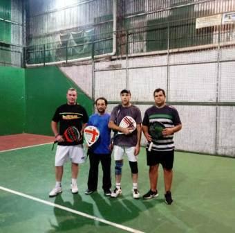Padel - Roque Lavernhe y Sebastián Velázquez ganaron torneo de 4ta categoría.