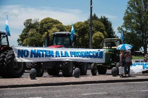 Declaración de las asociaciones de productores agropecuarios del Distrito de Saavedra Pigüé