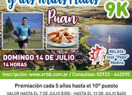 Atletismo - Competencia de los Paisajes y las Tortas Fritas este fin de semana en Puán.