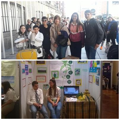 Escuelas Secundaria Agraria y Primaria Nº 7 de Goyena en Feria de Ciencias de Mar del Plata