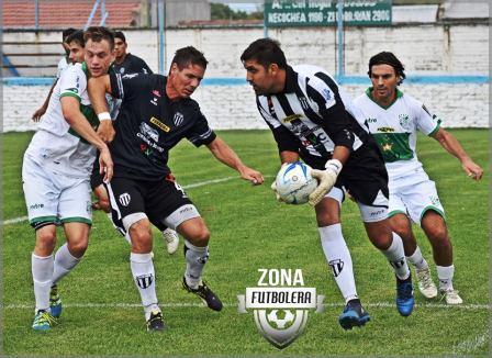 Liga del Sur - Lagrimal presente en la goleada de Liniers a Bella Vista.