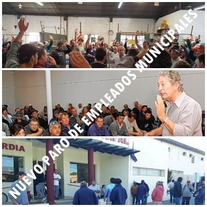 Pigüé: Nuevo paro de empleados municipales
