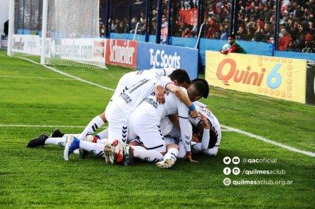 1ra Nacional - Con un gol de Leandro González Quilmes igualó en Alta Córdoba.