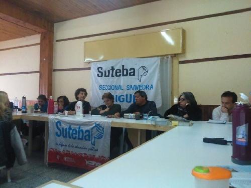 Asamblea extraordinaria de Suteba en Pigüé