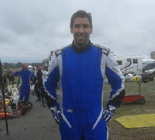 Karting - ¨Gomez Fredes ganador en la Clase Master en la 2da fecha de Balcarce.